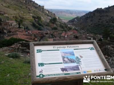 Travesía de senderismo desde El Atazar a Patones - Patones de Arriba; como hacer senderismo